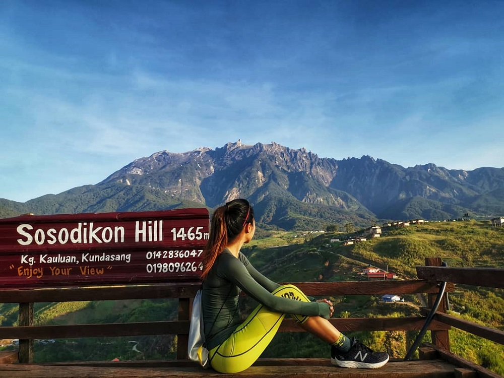 Sosodikon Hill is known for its Instagramable view in Malaysia