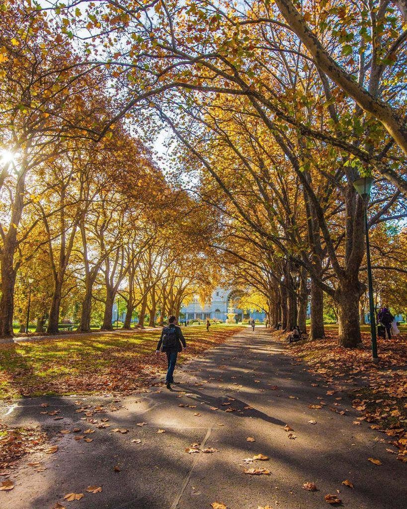 Best time to visit Melbourne is during autumn