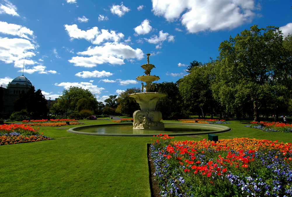Carlton Gardens is a must visit spot during autumn