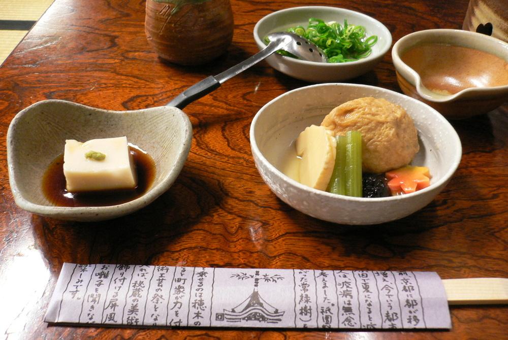 Tofu is a Kyoto favorite