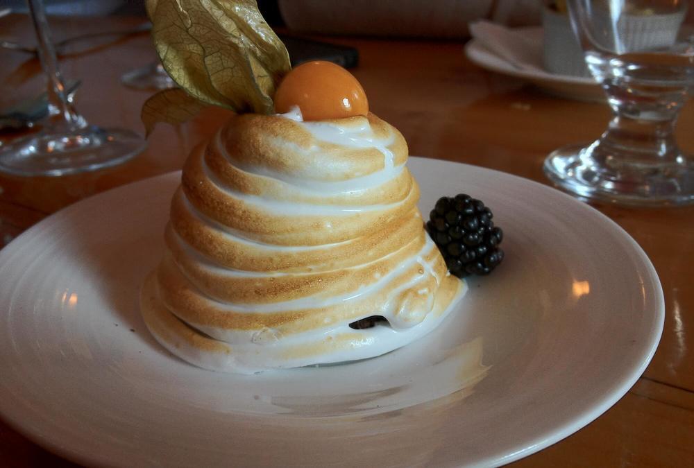 Scrumptious Food Treats in Melbourne, Bombe Alaska