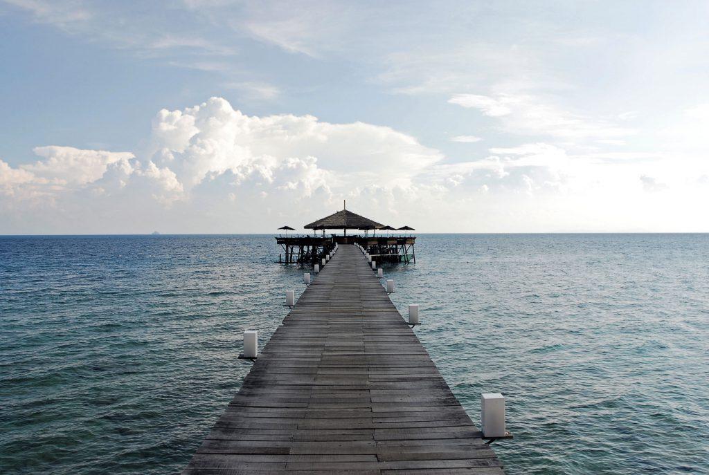 Resort butik mewah yang menghadap ke Laut China Selatan