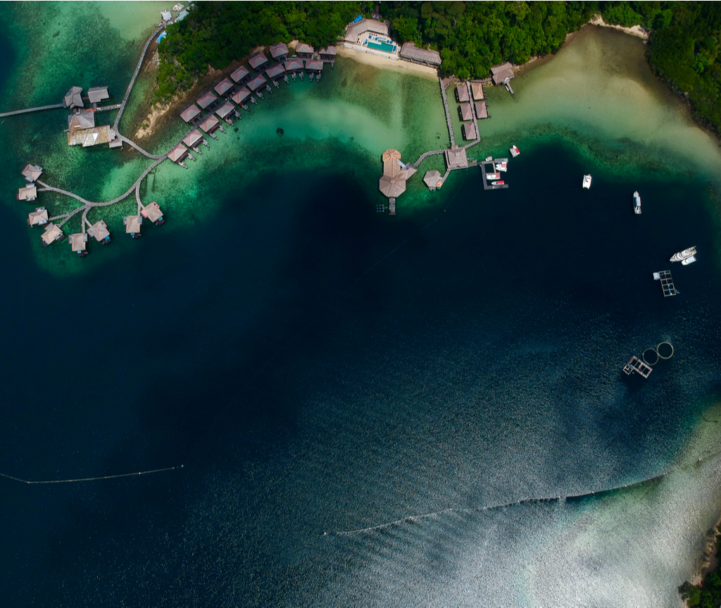 Gayana Eco Resort antara hotel terapung di Malaysia yang menakjubkan