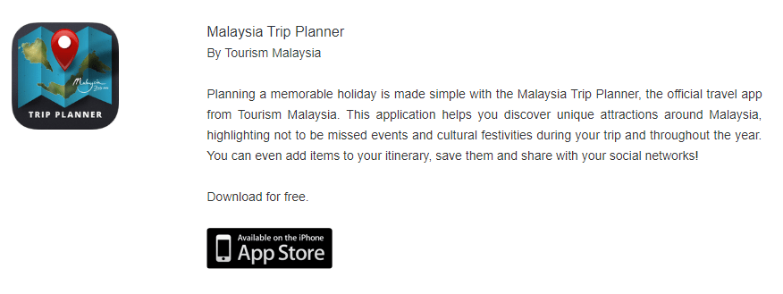15 Must-Have Malaysia Travel Apps, Trip Planner