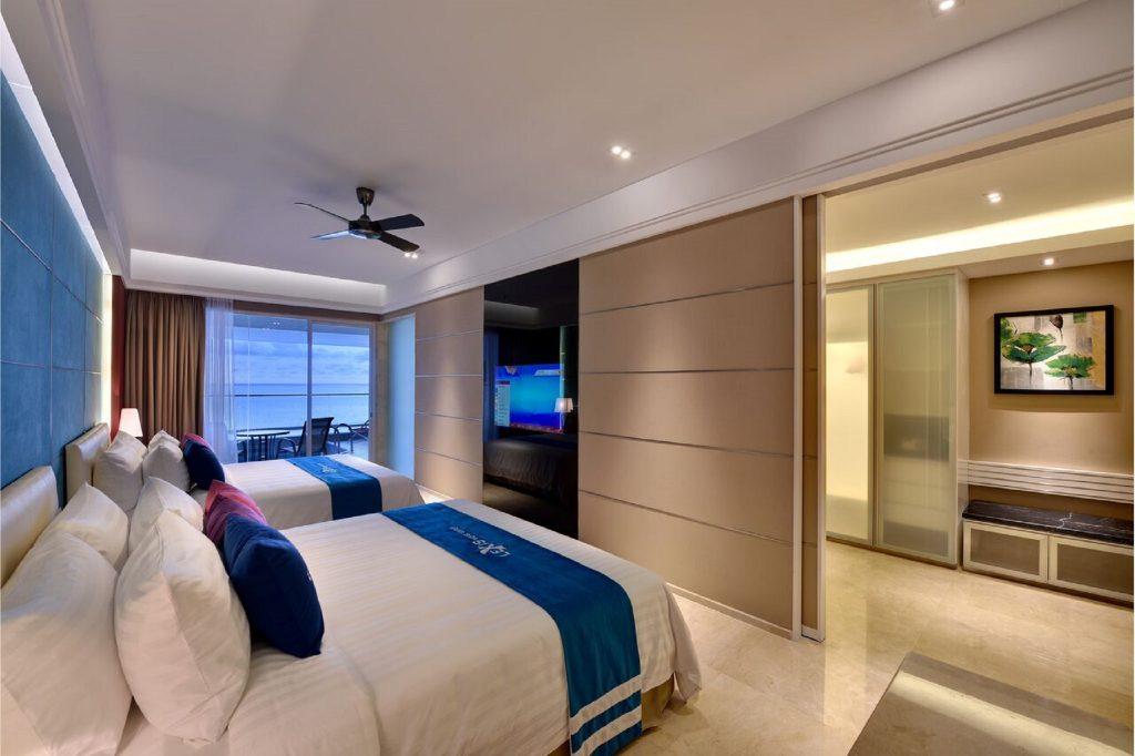Salah satu suite di Lexis Suites Penang