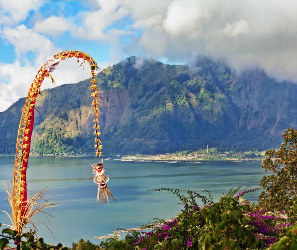 Perayaan nyepi disambut di Bali