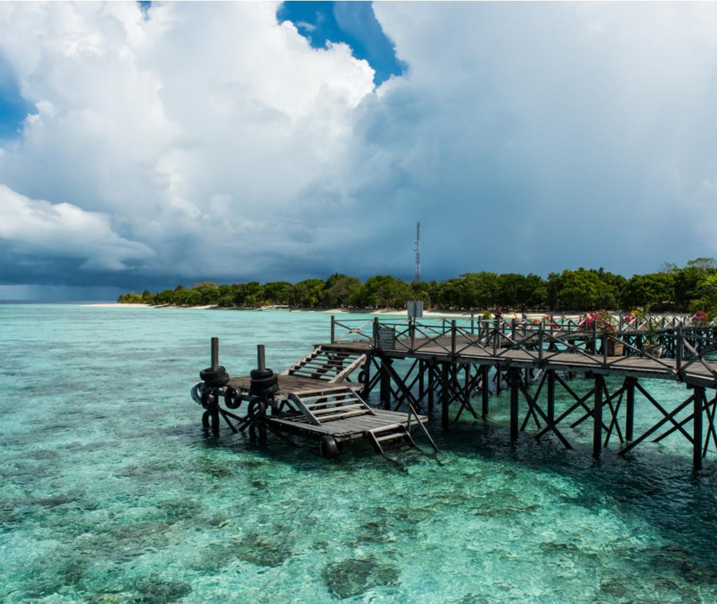 Pulau Pom Pom antara yang terindah di Malaysia