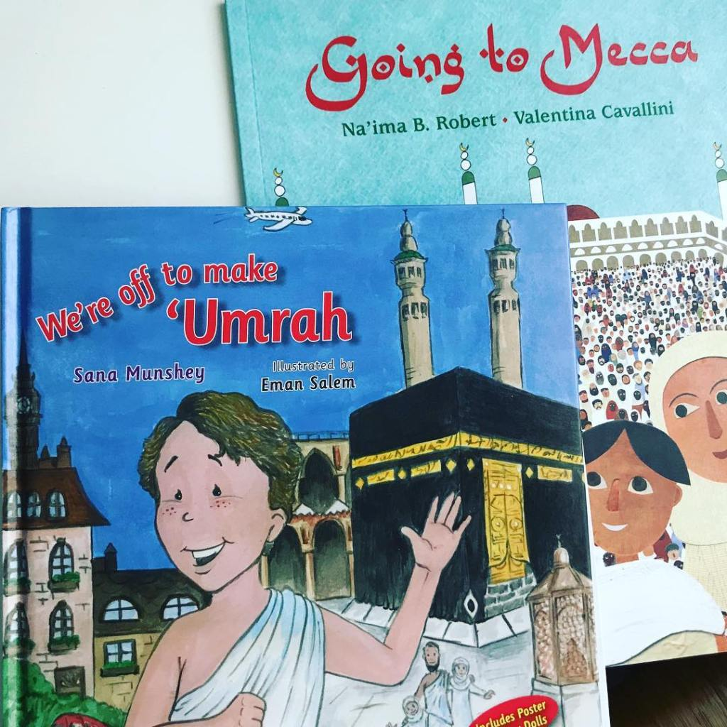 Books on umrah with kids