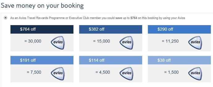 Avios+Cash