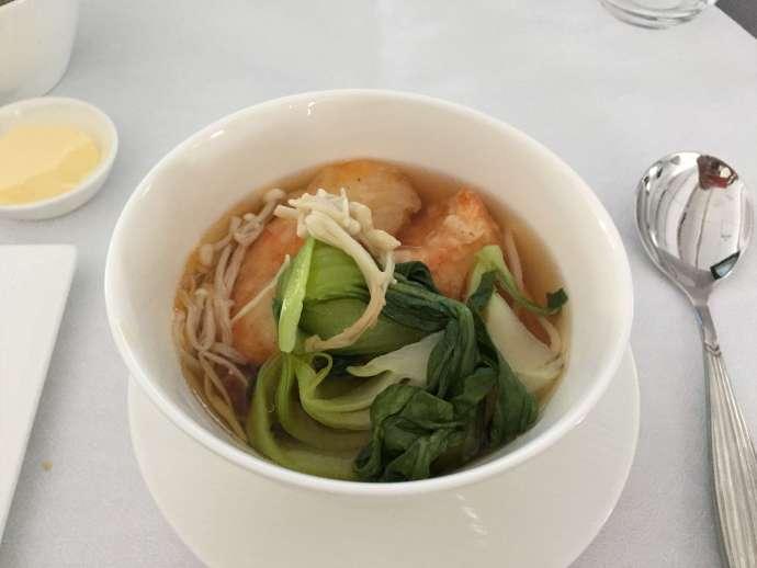 海鮮清湯,湯頭非常棒!