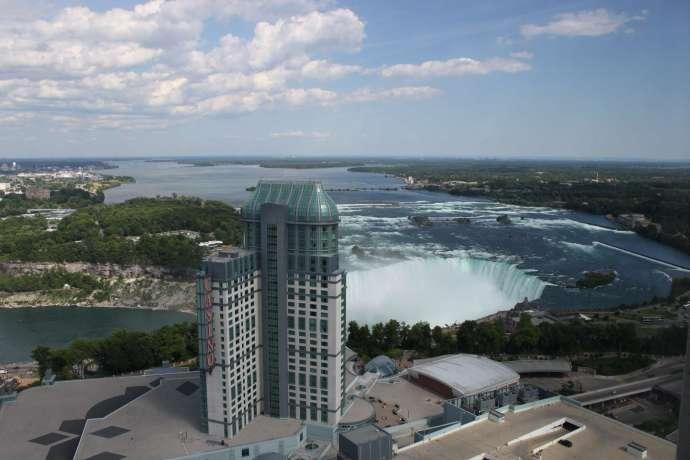 加拿大側瀑布觀