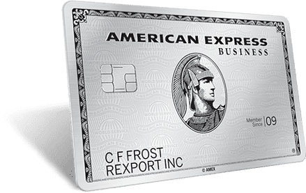 American Express Business Platinum Business Charge Card With Great