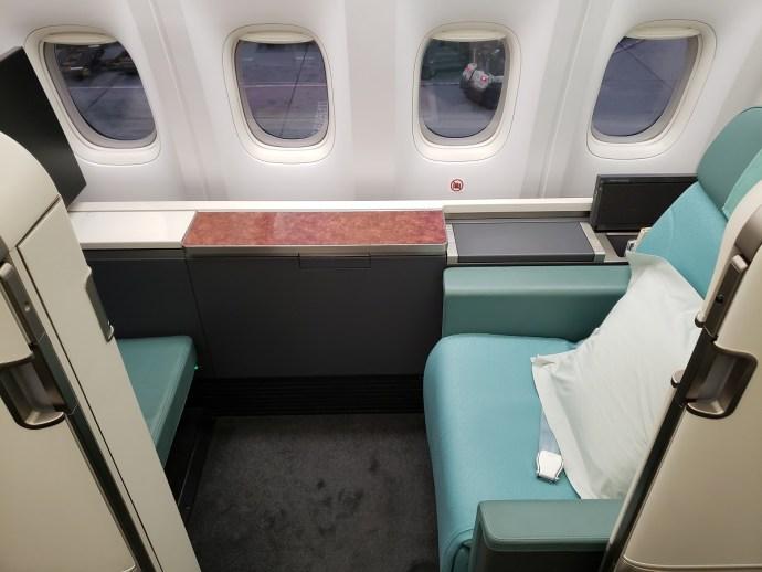 [Randy飛行紀錄] 大韓航空頭等艙/HKG~ICN~SFO 香港~首爾~舊金山