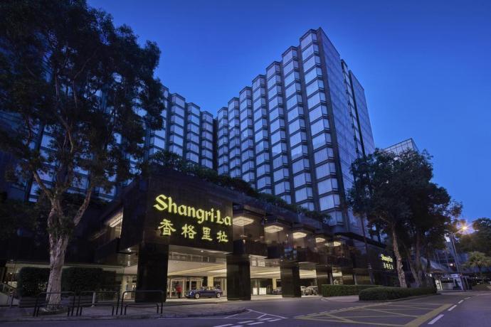 [Justin住宿紀錄] 香港九龍香格里拉酒店豪華半海景客房