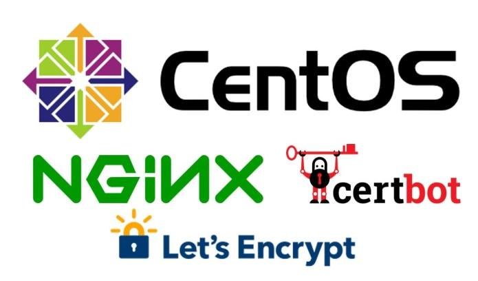 CentOS+nginx+certbot+let's_encrypt