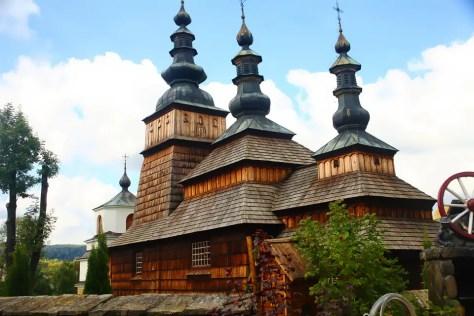 Owczary -cerkiew Opieki Bogurodzicy
