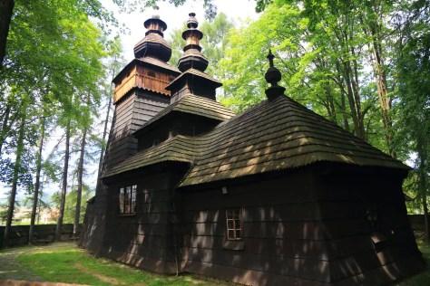 Powroźnik -cerkiew św. Jakuba Młodszego Apostoła w Powroźniku