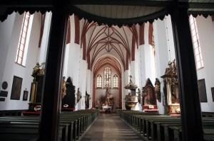 Lidzbark Warmiński - Kolegiata św. Piotra i Pawła