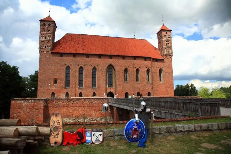 Lidzbark Warmiński - zamek