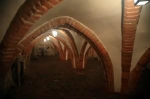 Lidzbark Warmiński - zamek - piwnice
