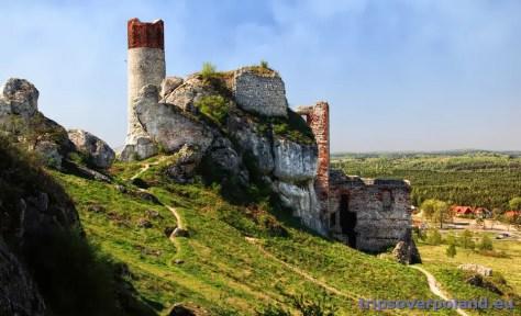 Zamek Królewski w Olsztynie koło Częstochowy