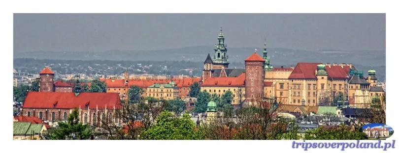 Wawel z Kopca Krakusa