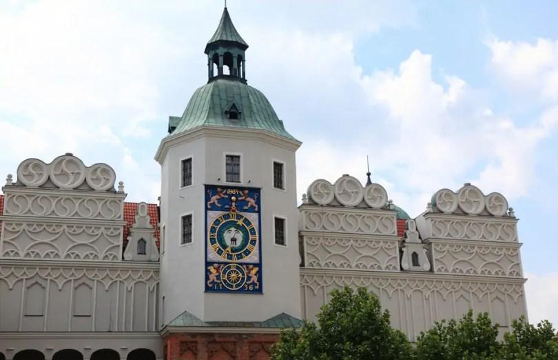 Zamek Książąt Pomorskich w Szczecinie - wieża zegarowa