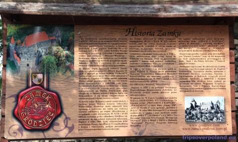 Zamek Grodziec - historia