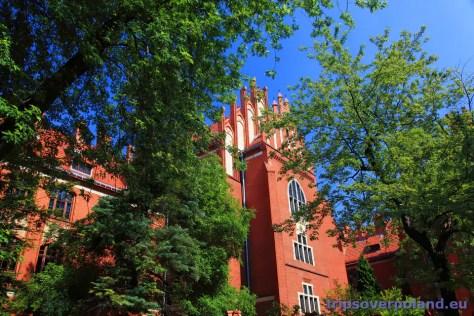 gmach Collegium Maius toruńskiego uniwersytetu