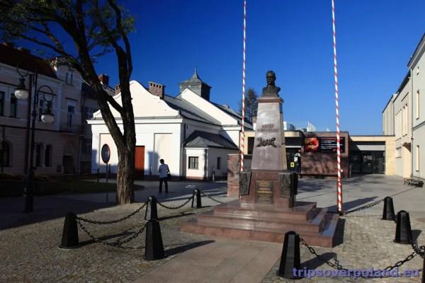 Krosno - pomnik Józefa Piłsudskiego