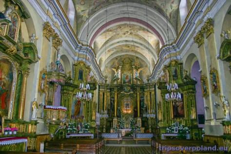 Rymanów - kościół parafialny (2004)