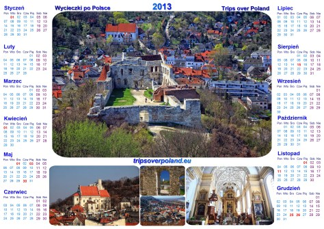 Kalendarz na rok 2013