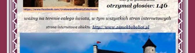 10 certyfikatów uznania w konkursie Uratowanych Obiektów Zabytkowych w Polsce