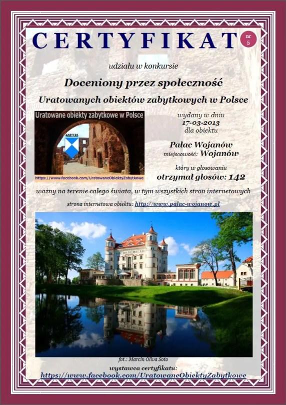 Pałac Wojanów - http://palac-wojanow.pl