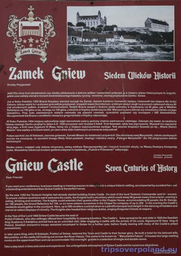 Zamek Gniew - historia