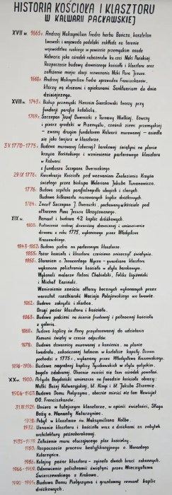 Kalwaria Pacławska - historia