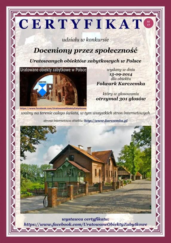 Folwark Karczemka – http://www.karczemka.pl