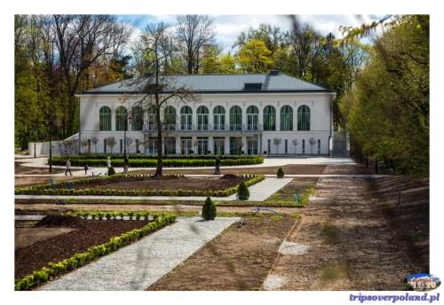 Pałac Mała Wieś'2017 - Nowa Oranżeria od strony ogrodów