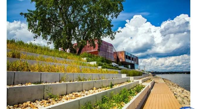 Kolorowe wsparcie dla panoramy miasta – ogrody na dachach CNK, BUW, a także kolejne fragmenty bulwarów nadwiślańskich