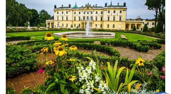 Pałac Branickich i park w Białymstoku pięknieje