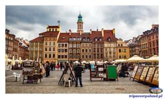 Warszawa - Rynek Starego Miasta