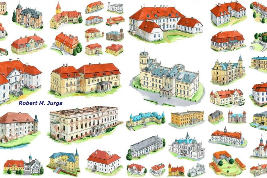 Pałace lubuskie - Robert M. Jurga
