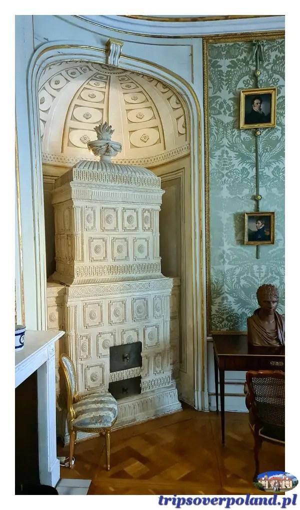 Pałac w Nieborowie'2021 - sypialnia Wojewody
