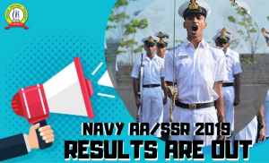 Indian Navy AA/SSR 2019 Results Out