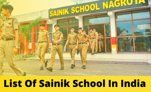 List Of Sainik School In India