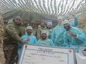 Indian Army soldier's surgery done at altitude of 16 thousand feet