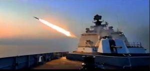 Indian Navy Celebrates Diwali By Firing Powerful Cruise Missiles