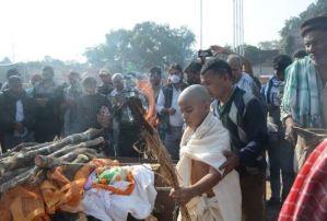 Last Rites Of Martyr Jawan Narendra Pandey Performed