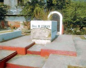 Indian Army Starts Repairing Brigadier Usman's tomb