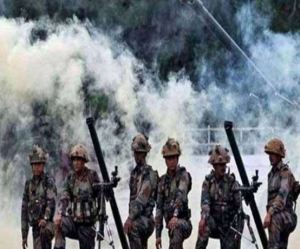 Indian Army Destroys Pakistan Posts In Response To Cannon Shells and Mortar Firing